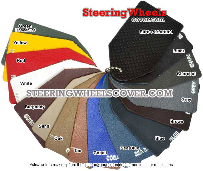 Wheelskins Steering Wheel Cover Color Sample