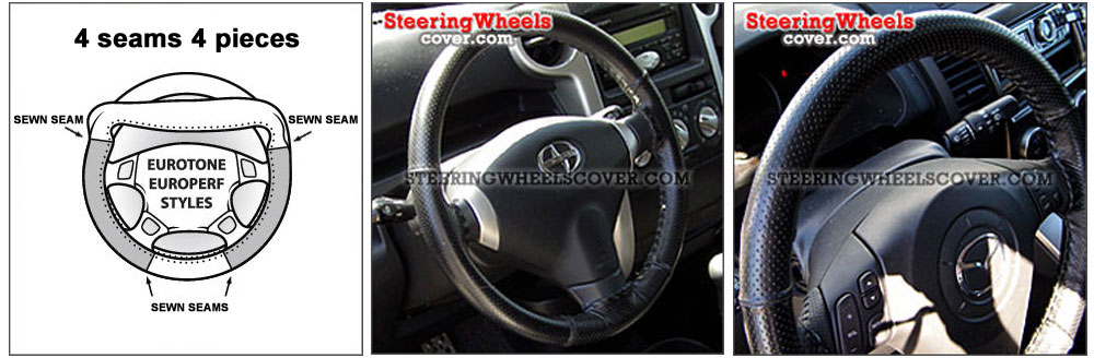 Wheelskins Steering Wheel Cover Euro-Perforated