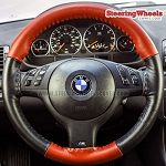 BMW 2004 3-Series Wheelskins Steering Wheel Cover (Euro-Tone, Size AXX)
