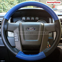 2010 Ford F150 Wheelskins Steering Wheel Cover Two Color
