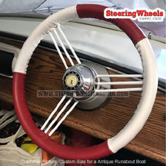 Custom-Size Wheelskins Steering Wheel Cover Euro-Perforated