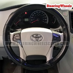 2016 Toyota Sienna Wheelskins Steering Wheel Cover Euro-Perforated