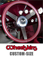 Wheelskins Steering Wheel Cover Custom-Size