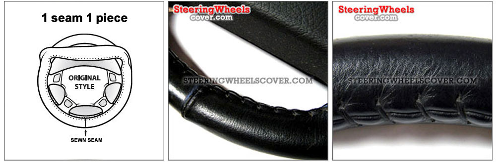 Wheelskins Steering Wheel Cover Single Color