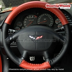 Chevrolet 2000 Corvette Wheelskins Steering Wheel Cover (Euro-Tone, Size C)