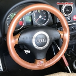 Audi 2002 TT Wheelskins Steering Wheel Cover (One Color, Size C)